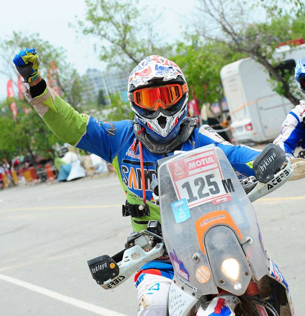 Donovan At The 2018 Dakar