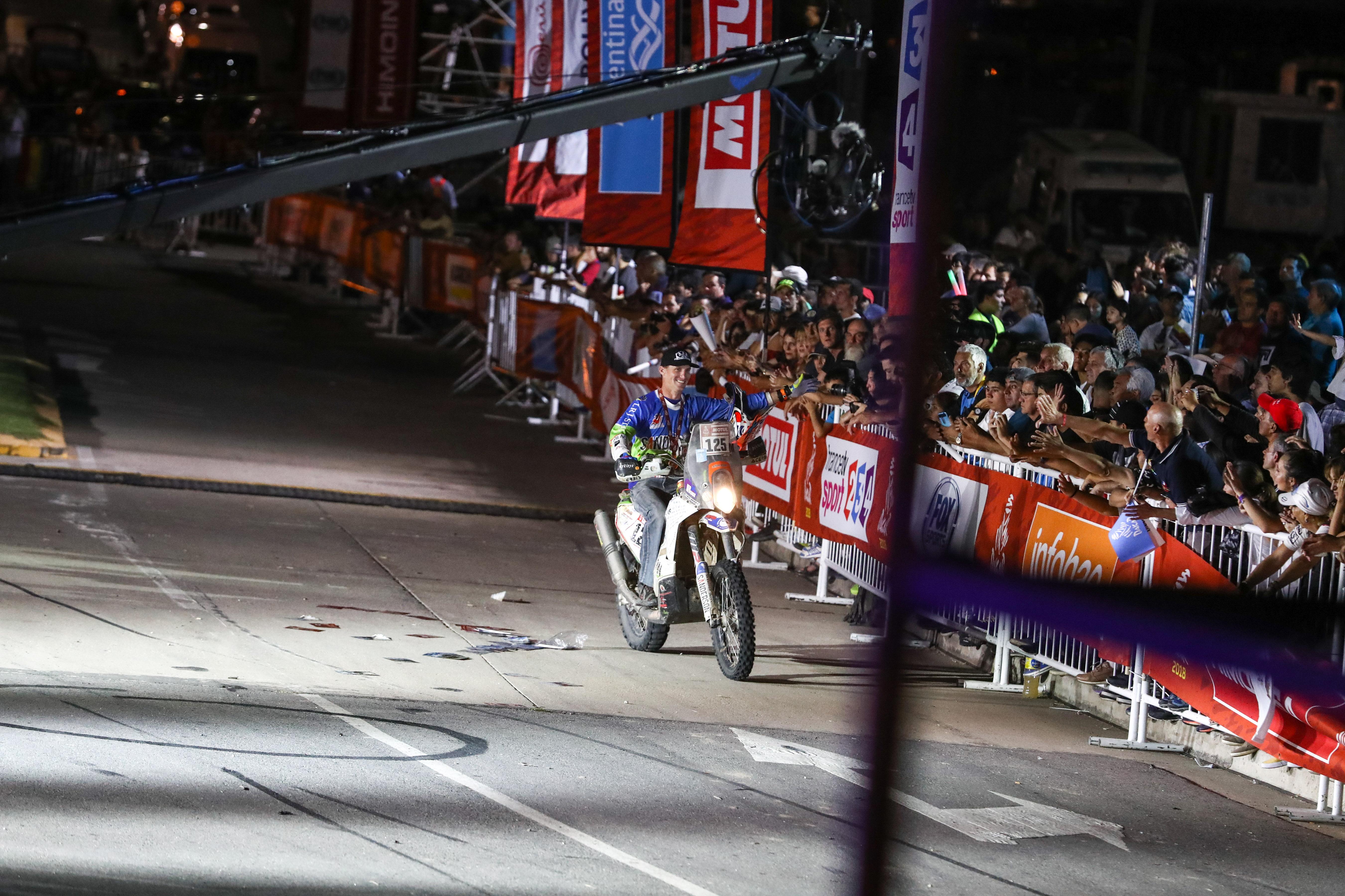 Final Touches For Dakar 2017